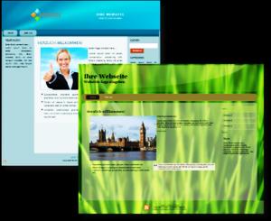 Beispielbilder von Webseiten